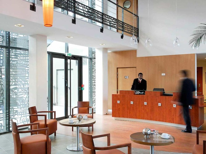 Appart hotel Adagio Bordeaux Gambetta (réception)