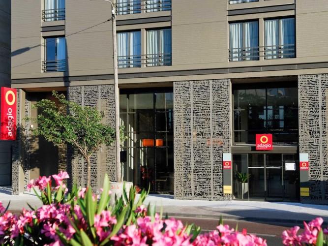 Appart hotel Adagio Bordeaux Gambetta (façade)