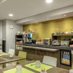 Appart'Hotel Citadines Les Halles Paris (salle petit déjeuner)