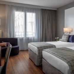 Appart'Hotel Citadines Les Halles Paris (chambre)