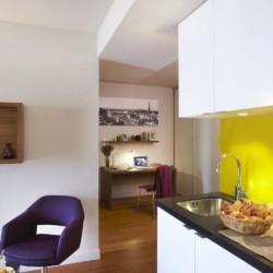Appart'Hotel Citadines Les Halles Paris (coin cuisine)