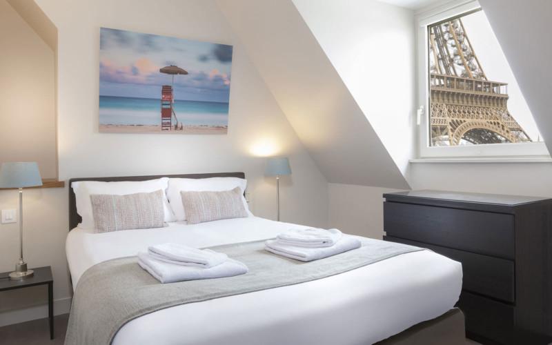 Apparthotel Paris, Résidence Charles Floquet (chambre)
