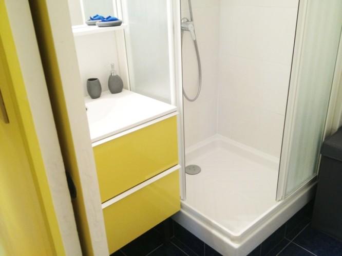Appartement meublé Rennes centre ville, Bretagne (salle de bain)