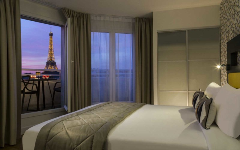 Apparthotel Citadines Tour Eiffel Paris 15e (chambre)