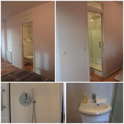 Studio d'hôtes Paris 15e - rue Lecourbe (salle de bain)