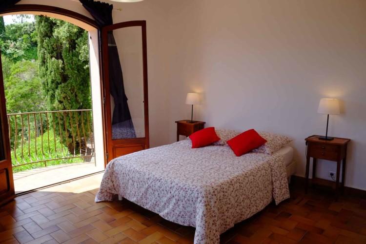 Villa de Vacance avec piscine à Théoule Sur Mer près de Cannes (chambre 2 balcons)
