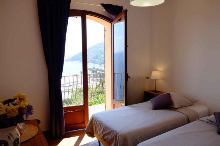 Villa de Vacance avec piscine à Théoule Sur Mer près de Cannes (chambre vue mer)
