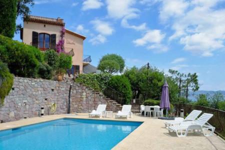 Villa de Vacance avec piscine à Théoule Sur Mer près de Cannes