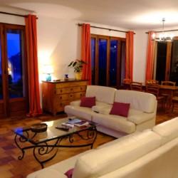 Villa de Vacance avec piscine à Théoule Sur Mer près de Cannes (salon)
