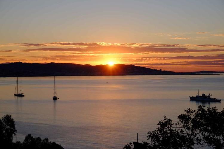 Villa de Vacance avec piscine à Théoule Sur Mer près de Cannes (lever de soleil)