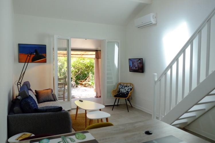 Location petite maison de vacances à deux pas de la plage Saint Mandrier sur mer, Var (83)