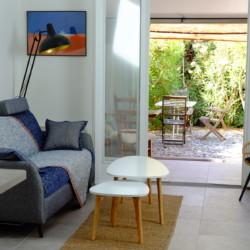 Location petite maison de vacances à Saint Mandrier sur mer, Var (83) : Salon